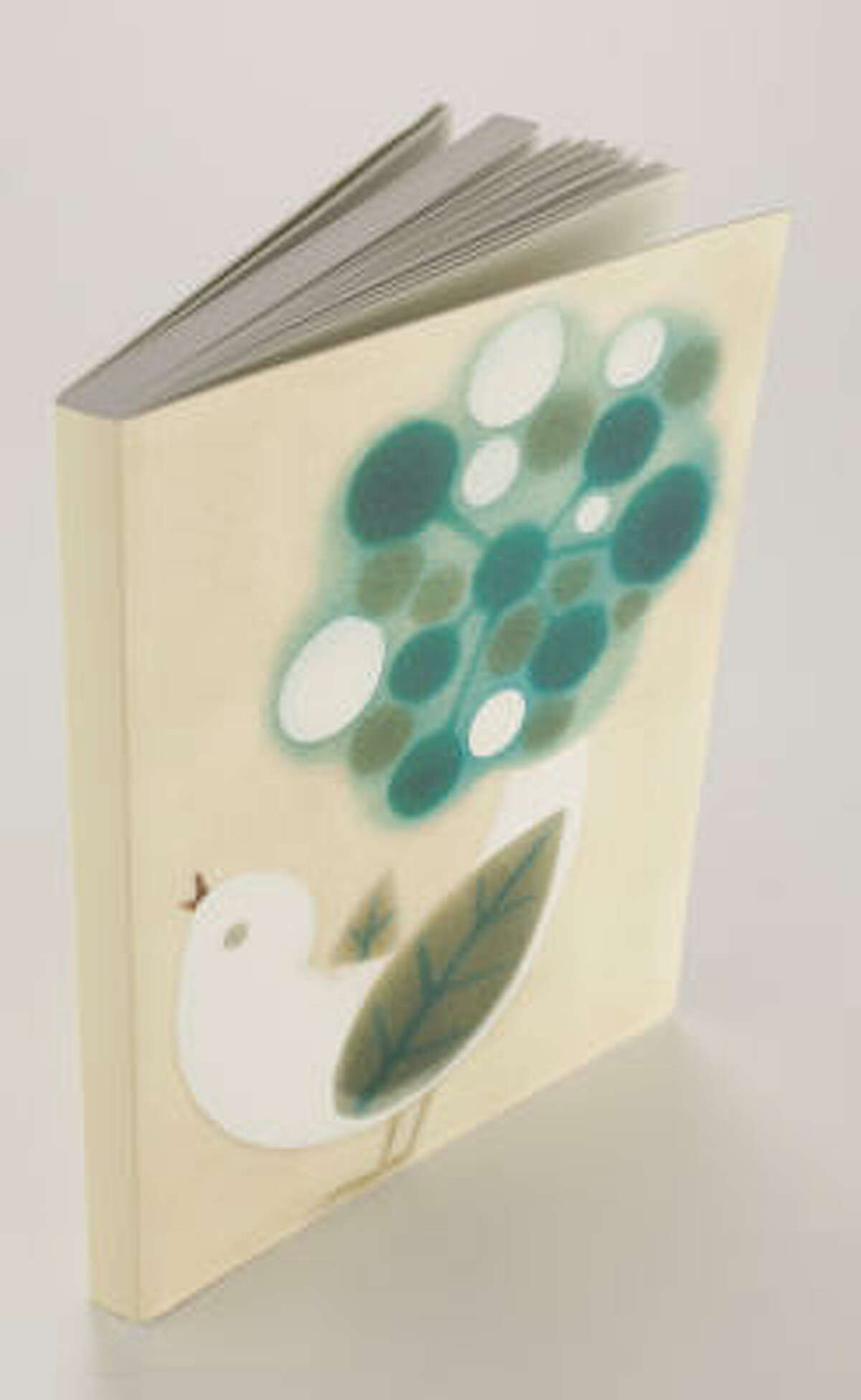 Barnes & Noble carries card sets and journals, $9.95-$14.95, that feature her work.