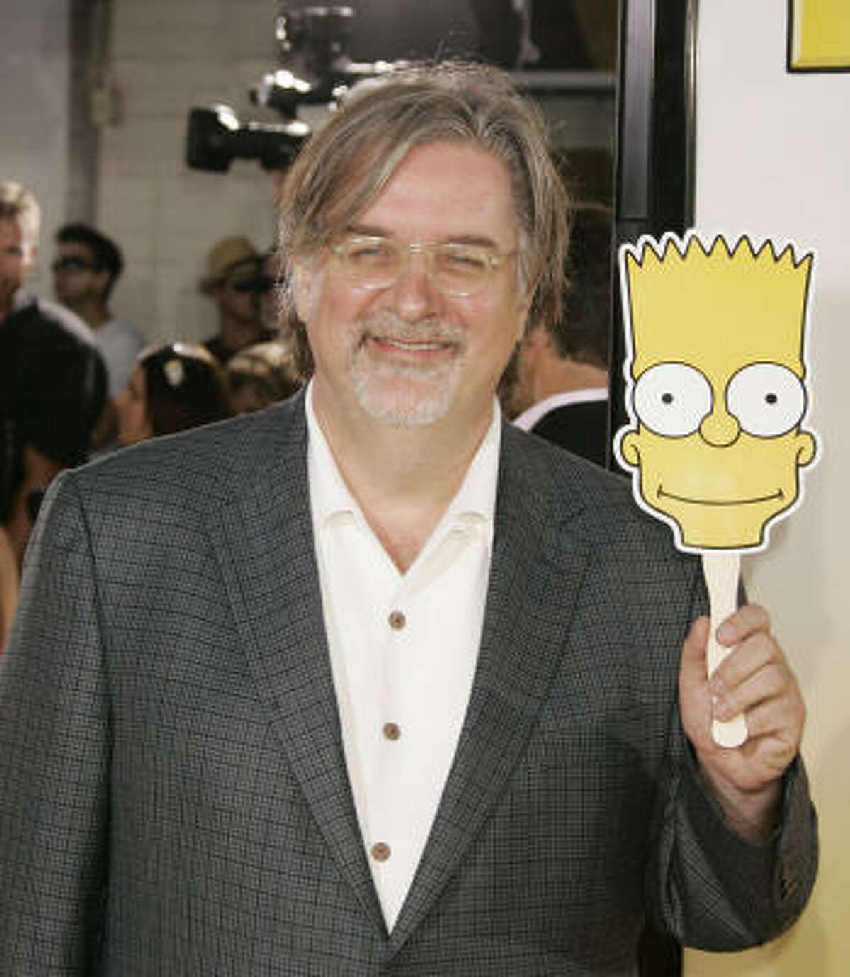 Creator of the Simpsons, Matt Groening, occasionally drops references to Star Trek.