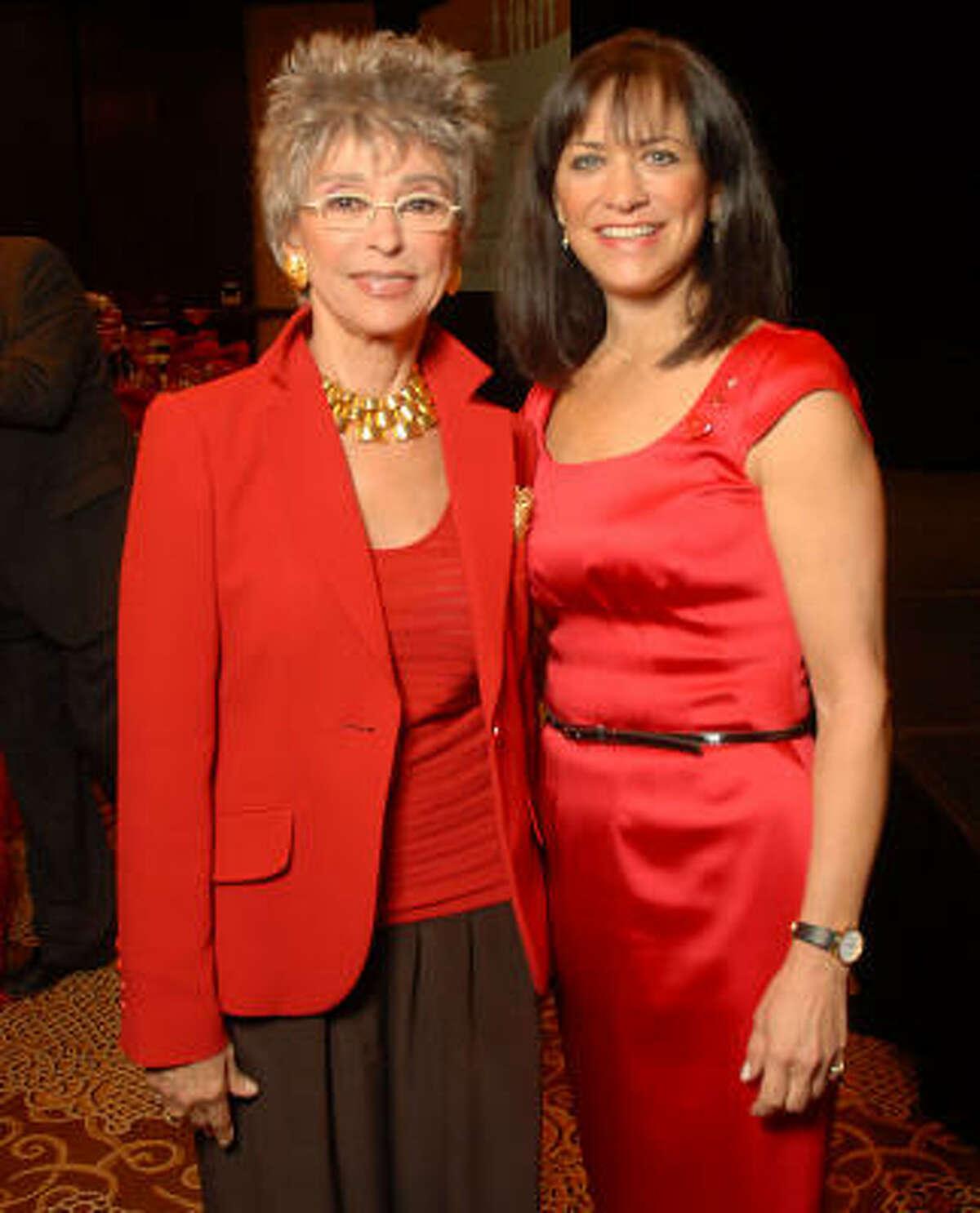 Rita Moreno and Ilene Allen