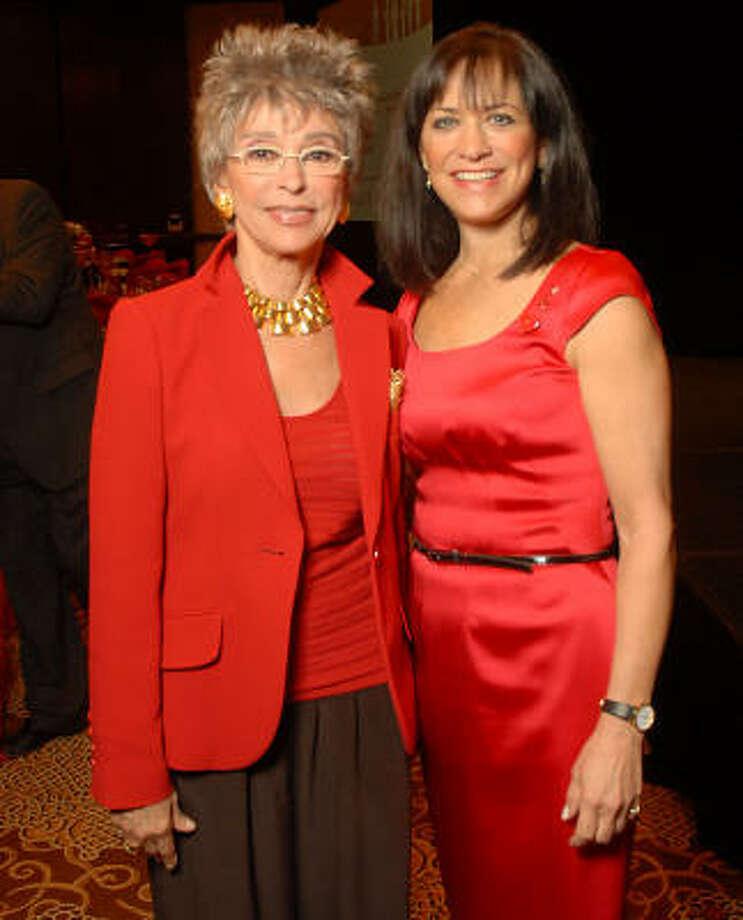 Rita Moreno and Ilene Allen Photo: Dave Rossman, For The Chronicle