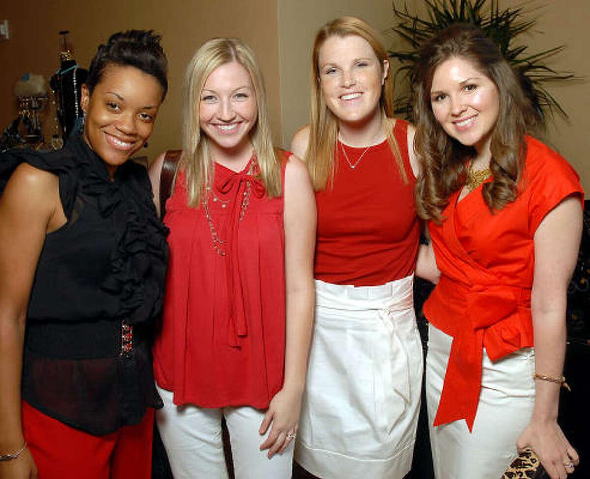 Arielle Logan, Kelly Egliht, Gwen Smith and Michelle Yeglic