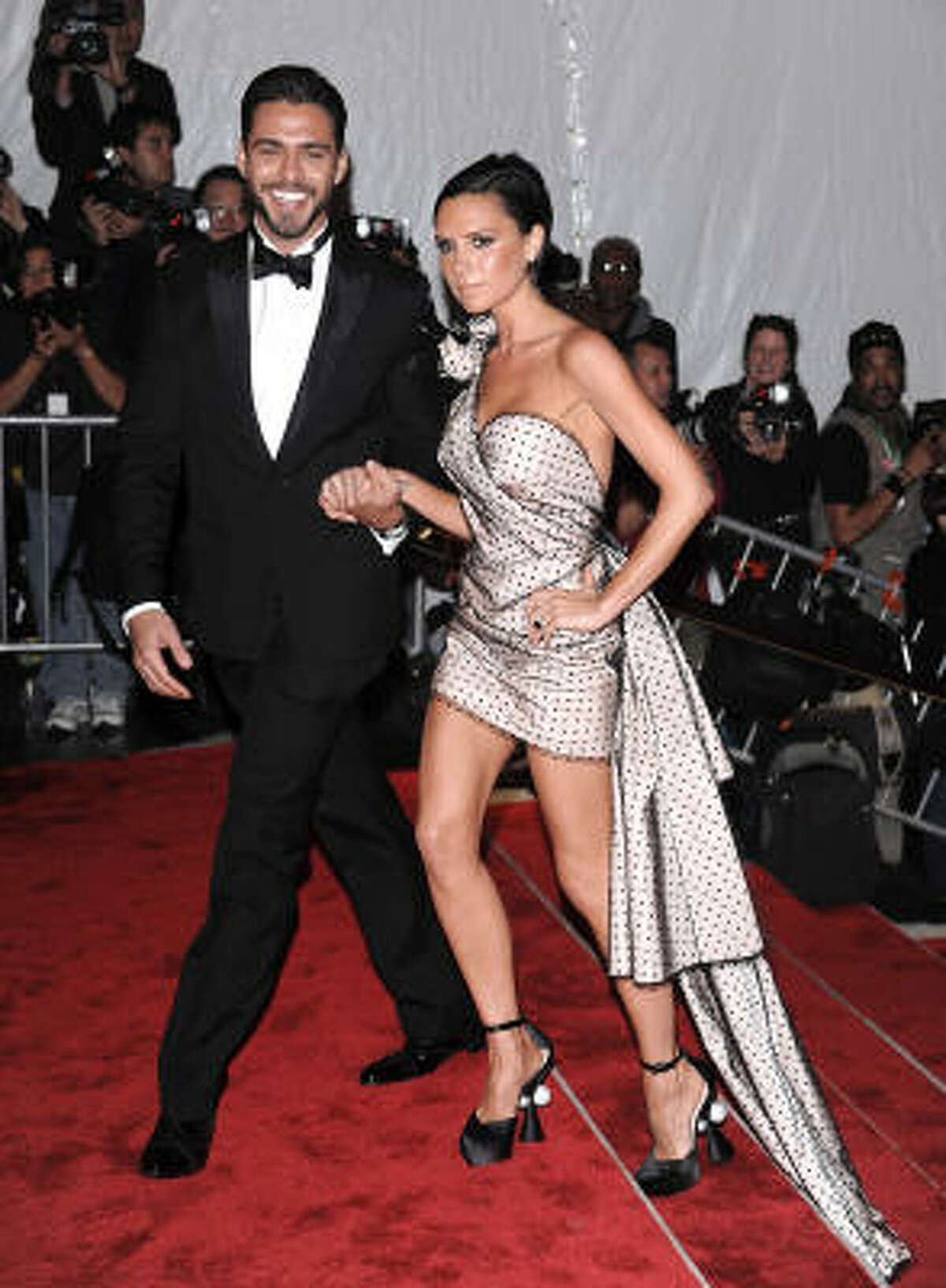 Lorenzo Martone and Victoria Beckham