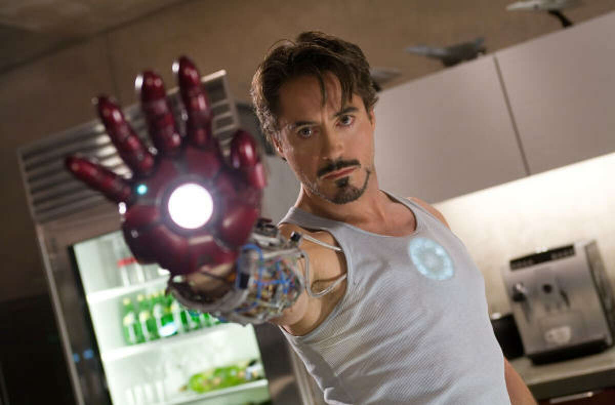Best movie: Iron Man
