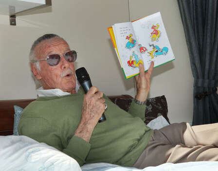 Stan Lee was in his early 40s when he created Spider-Man and most of his other legendary superheroes. His partner, artist Jack Kirby, started drawing The Fantastic Four when he was 44. Photo: Vince Bucci, Getty Images