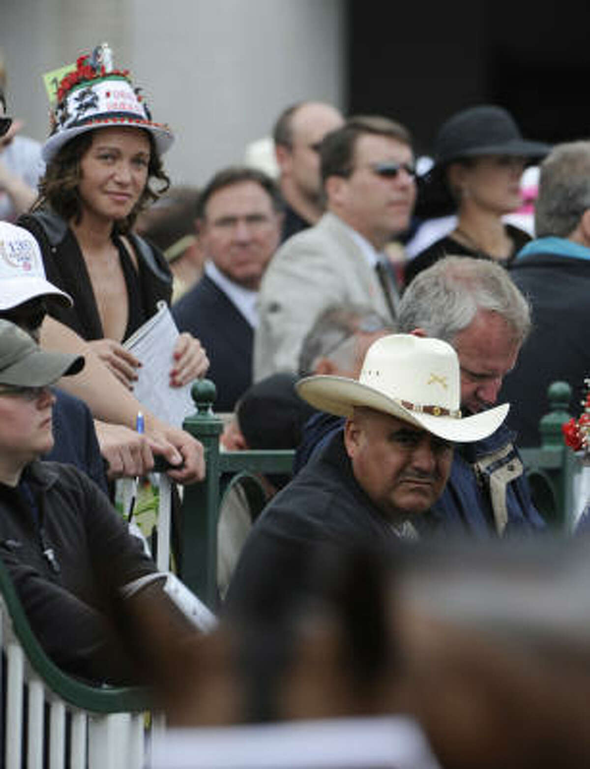 From cowboy hats and baseball caps to decorated fedoras, the Kentucky Derby is not lacking when it comes to headwear.