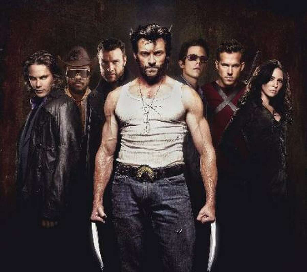 Wolverine and his band of sexy mutants.
