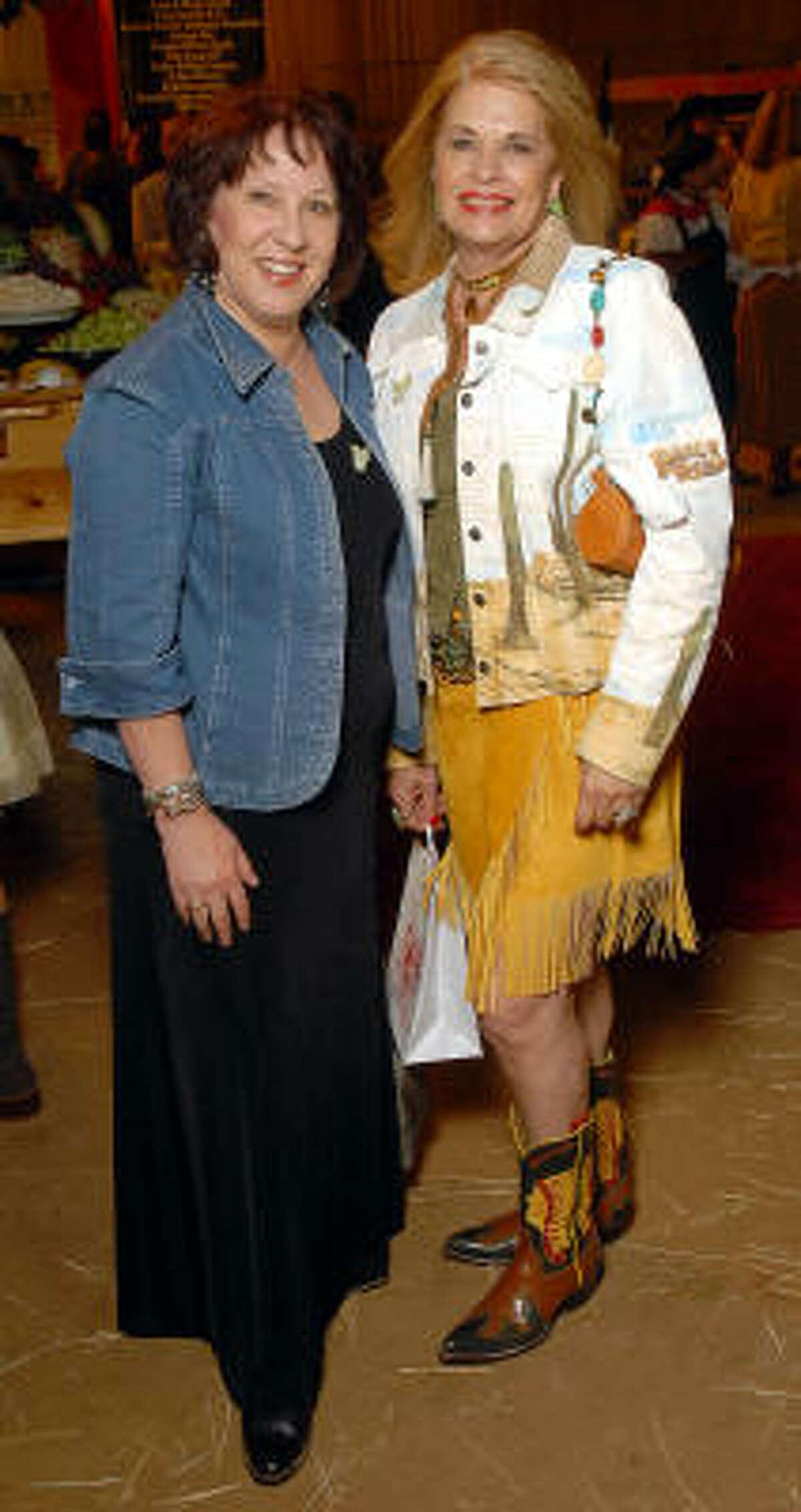 Jean Leonetti and Cookie Michael