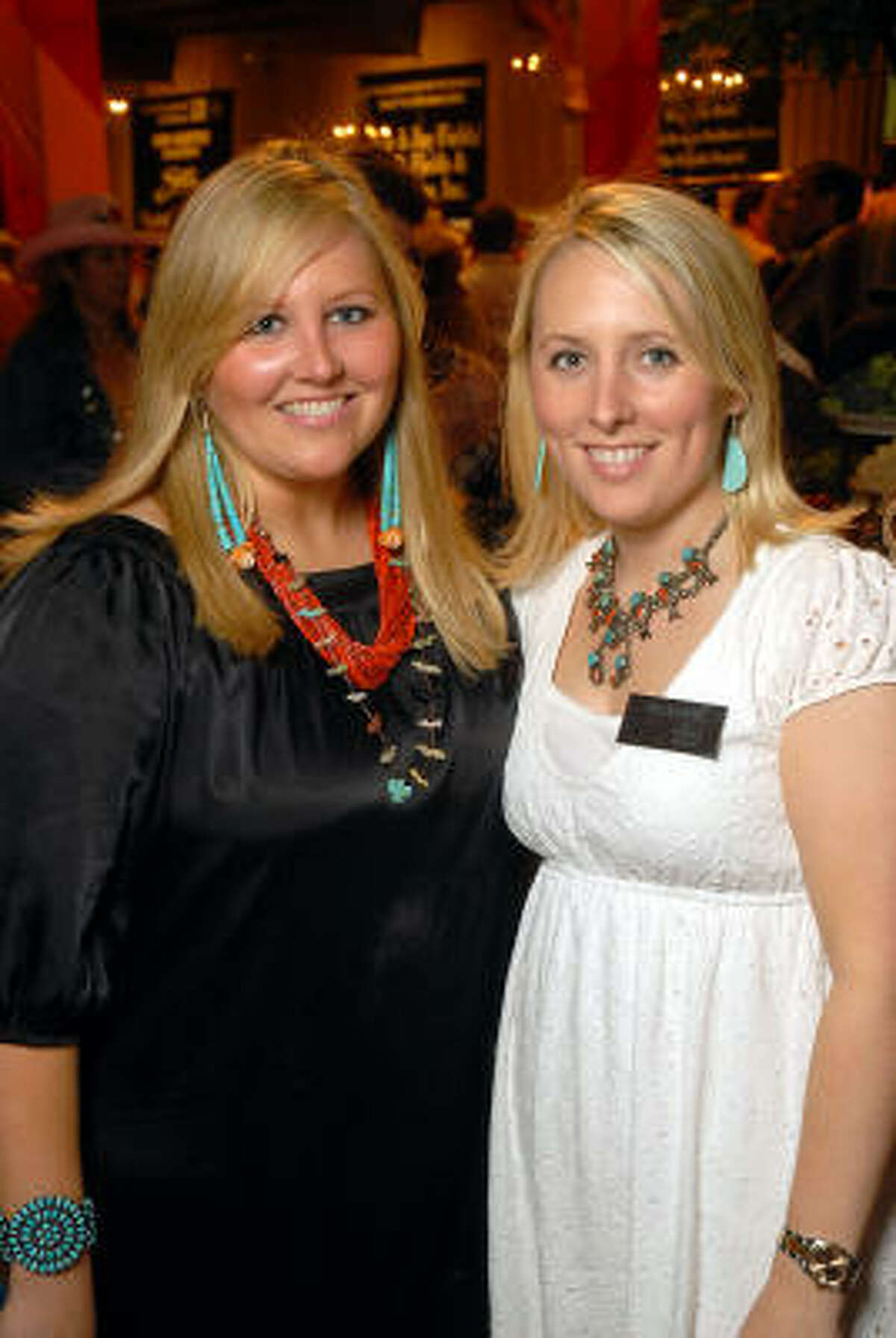 Meredith Riddle and Liz Anders