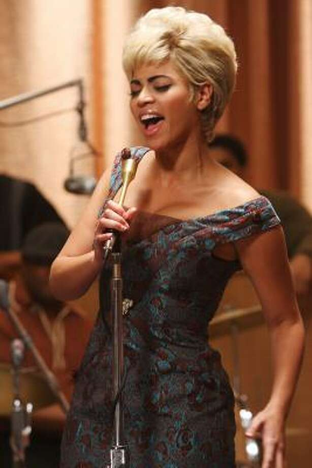 Beyonce portrayed Etta James in Cadillac Records. Photo: Eric Liebowitz, AP