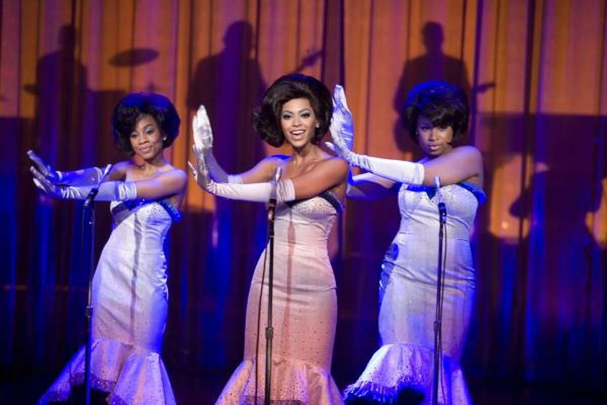 Anika Noni Rose, from left, Beyonce Knowles and Jennifer Hudson star in Dreamgirls.