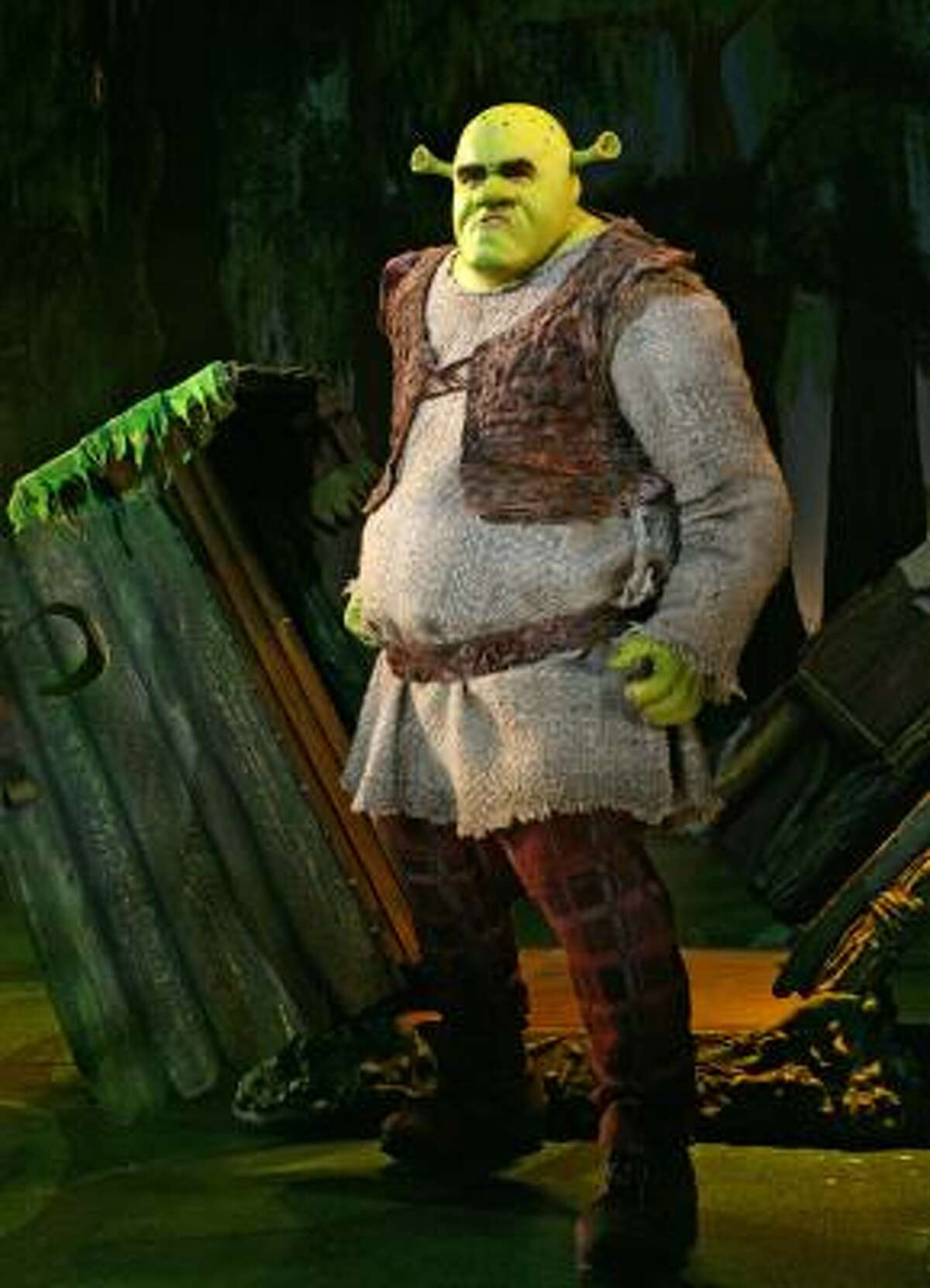In this image released by Boneau/Bryan-Brown, Brian d'Arcy James is shown as the title character in
