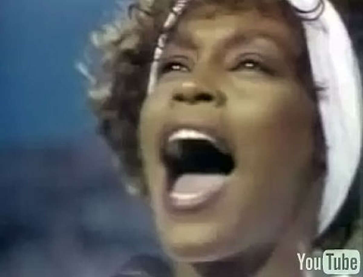 The 10 BEST No. 1 Whitney Houston, Super Bowl XXV (Jan. 27, 1991) How you voted: Gold: 152Silver: 75Bronze: 23 Total: 629