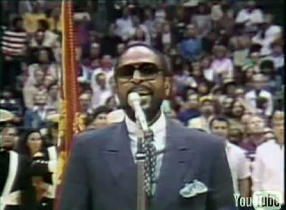 No. 2 Marvin Gaye, NBA All-Star Game (Feb. 13, 1983) How you voted: Gold: 121Silver: 58Bronze: 25 Total: 504