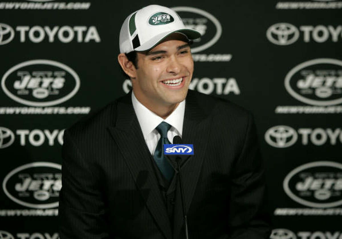 Round 1, fifth overall, New York Jets Mark Sanchez, QB, USC