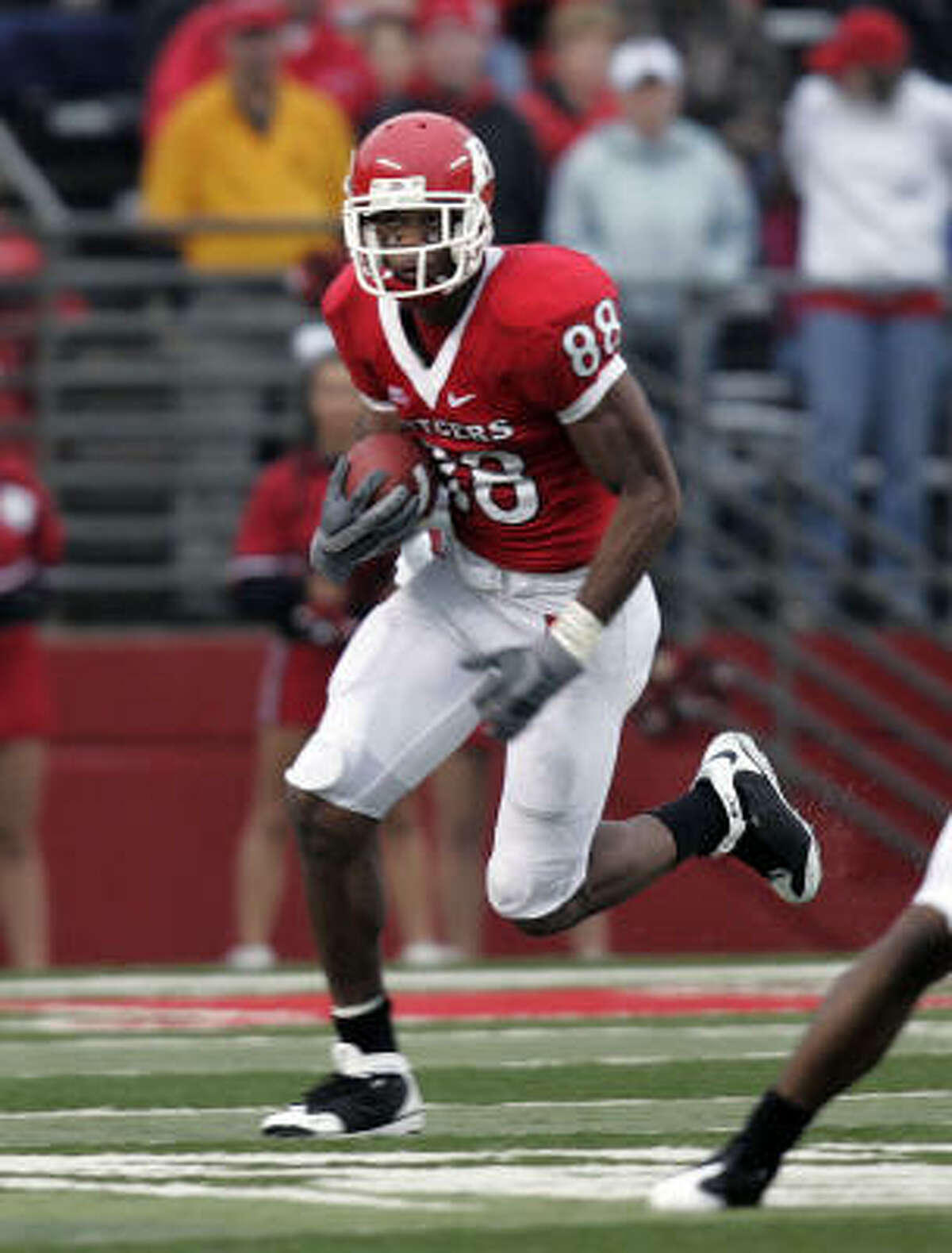 Round 1, 30th overall, Tennessee Titans Kenny Britt, WR, Rutgers