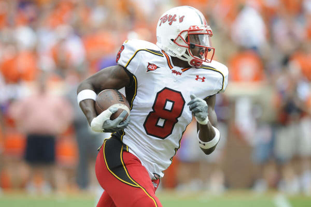 No. 7, Oakland Raiders Darrius Heyward-Bey, WR, Maryland