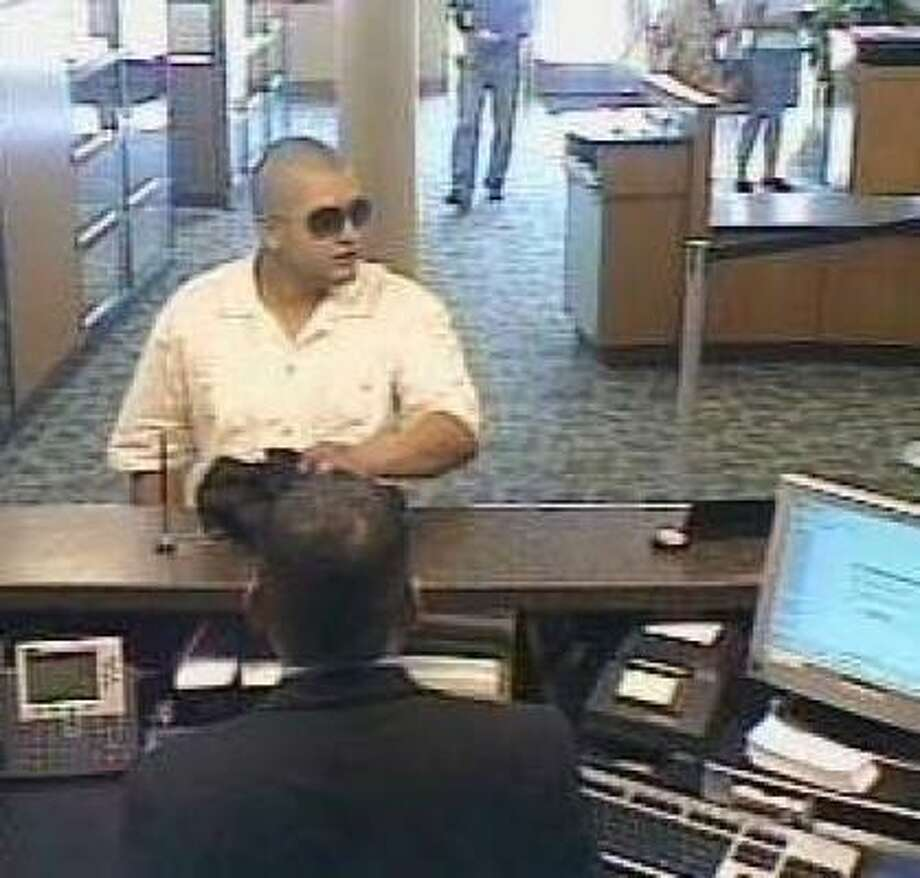 "HOUSTON AREA, 2008-09 (FBI)He's know as the ""Point Blank"" bandit. Photo: FBI"