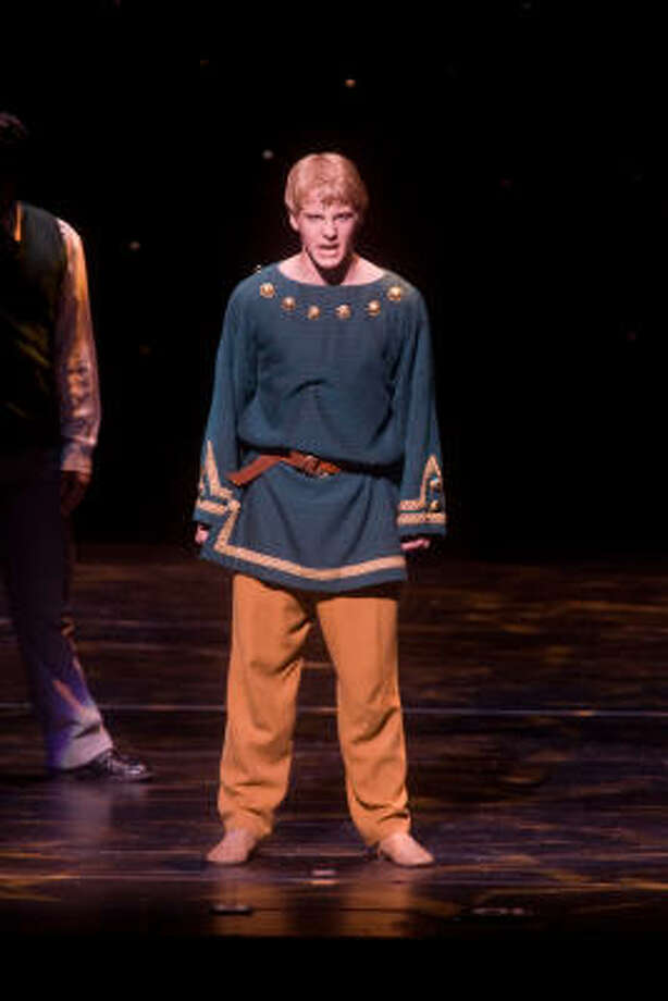 "Ben Estus of Episcopal High School was nominated for ""Best Leading Actor"" honors at the 2009 Tommy Tune Awards for his portrayal of ""Pippin."" Photo: R. Clayton McKee, For The Chronicle"