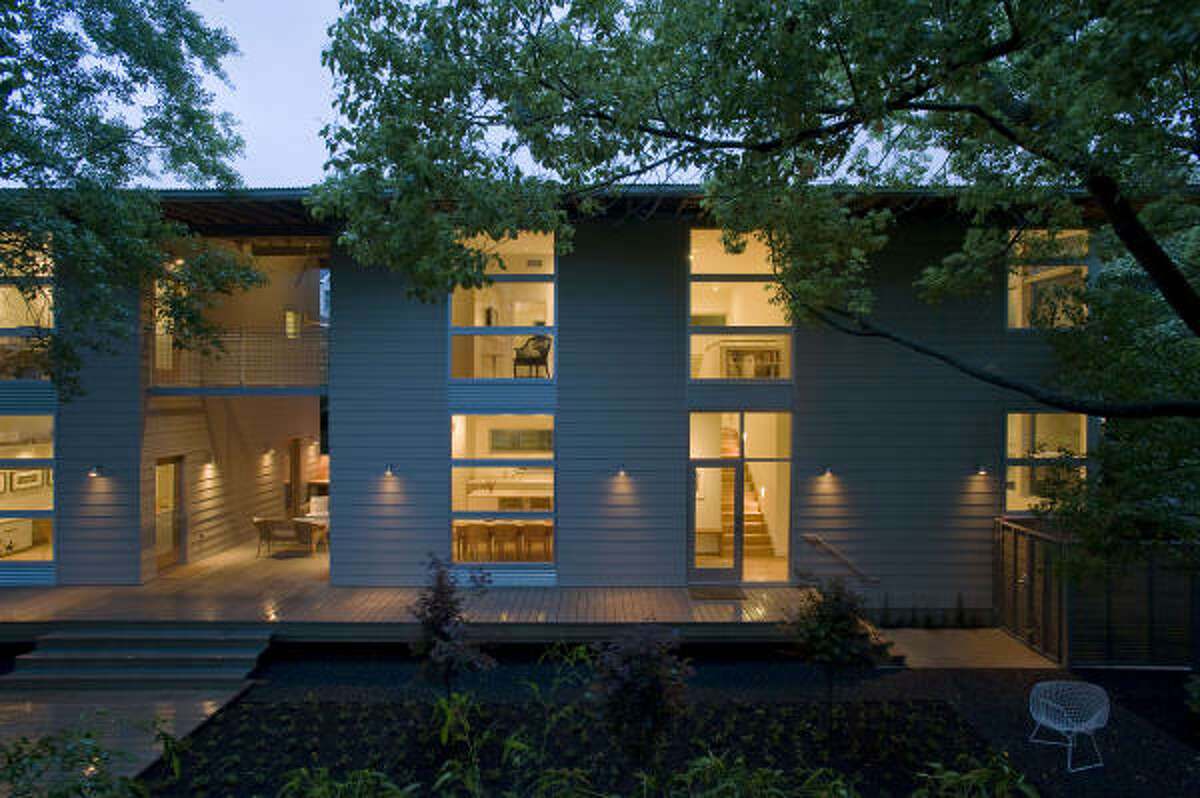 Houston-based architect Nonya Grenader designed this 1,800-square-foot home in Southampton for her family.