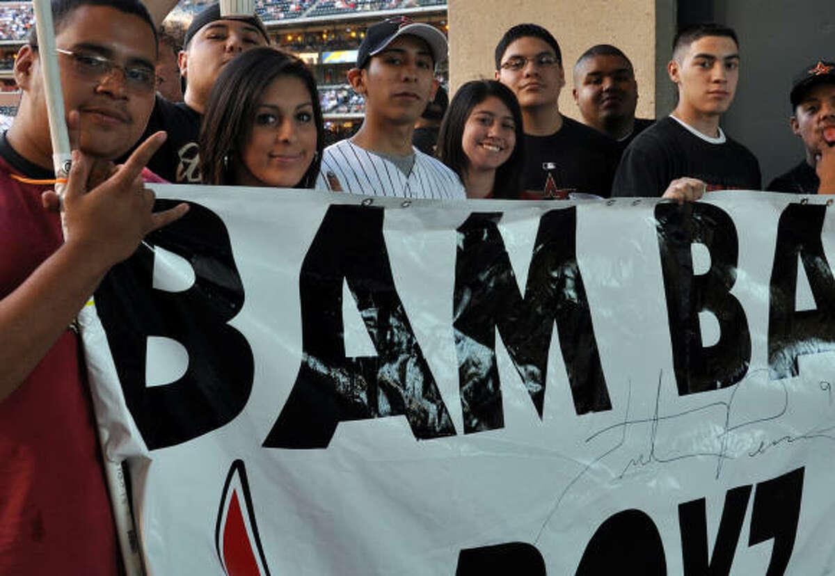The Bam Bam Boyz seem to gain more members each game.
