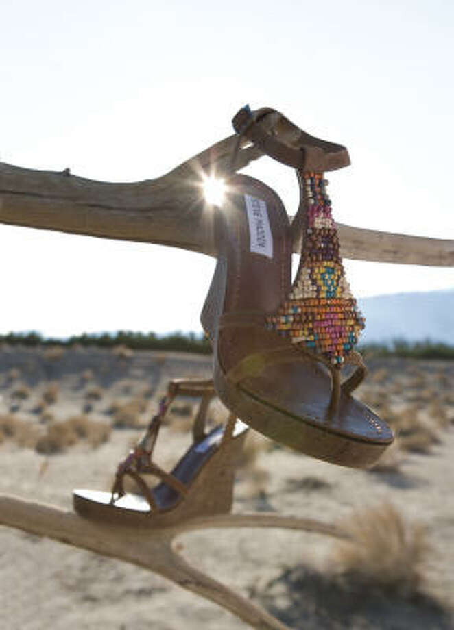 Steve Madden Creed wedge in multicolor brown - $89, Macy's Photo: Macy's