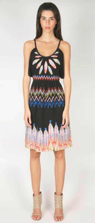 The Dakota dress retails for $398 by Tibi