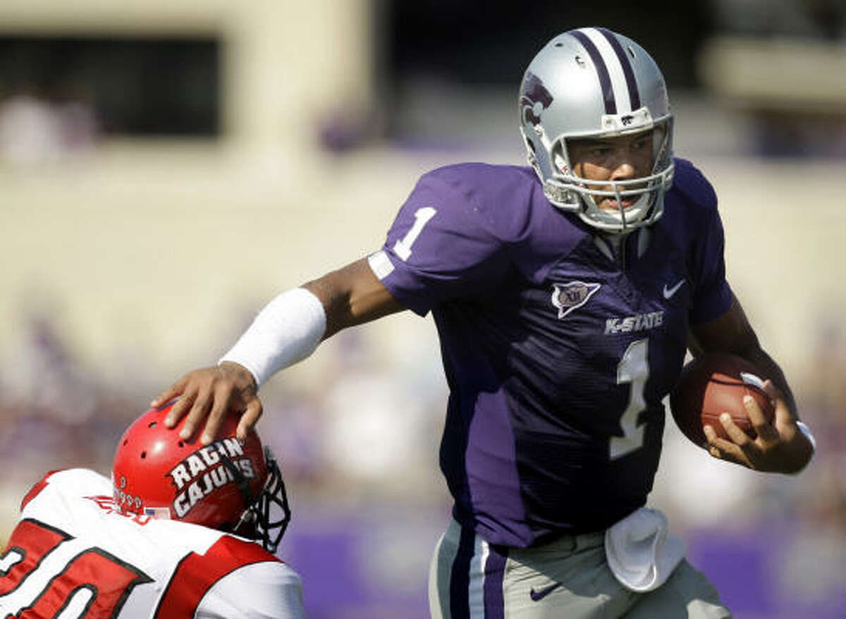 THE BEST Josh Freeman, 6-6, 248, 4.90, Kansas State A junior with outstanding size has been impressive in postseason and should be a first-round pick.