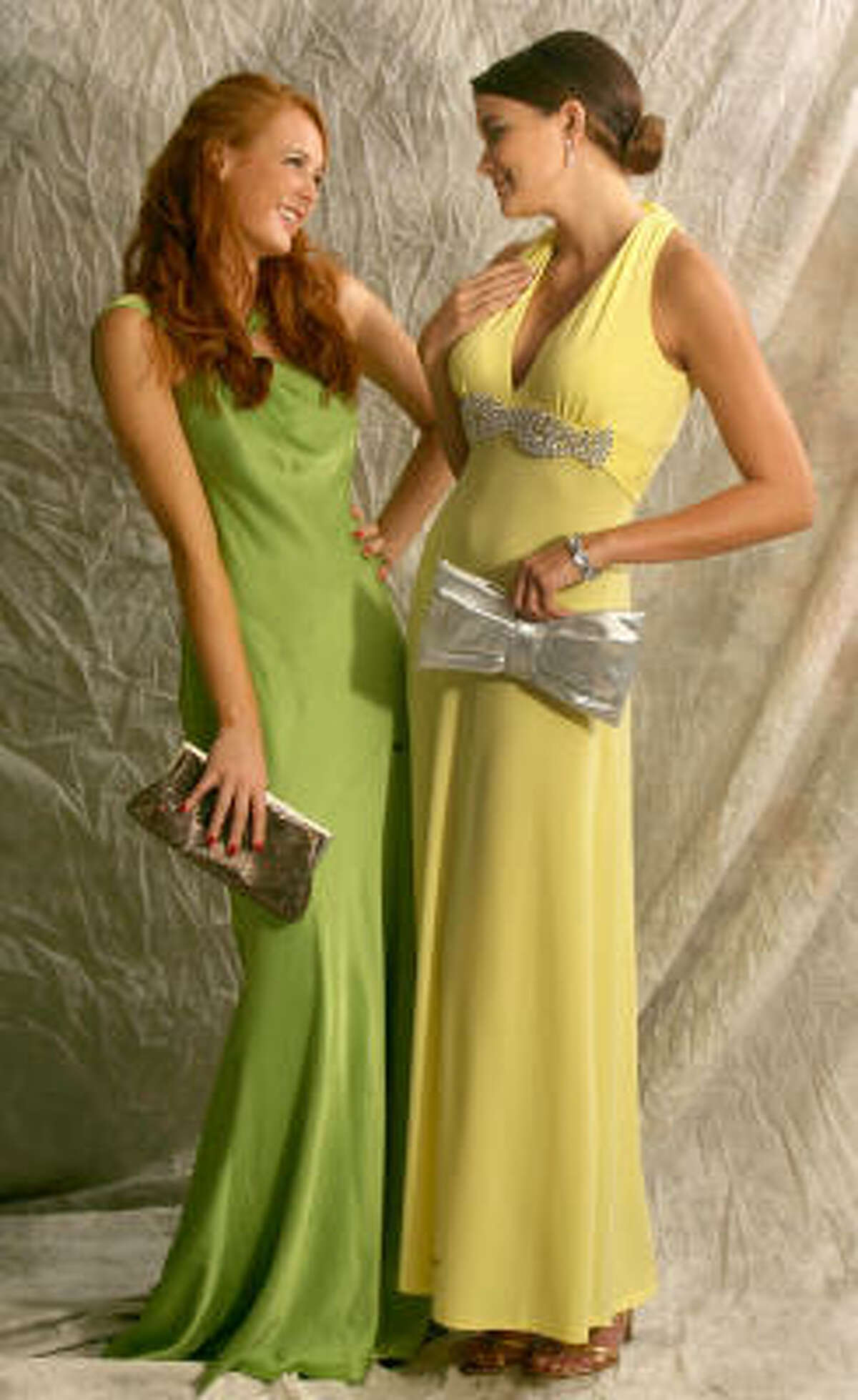 Prom fashion is all about choice this year, whether it is strapless, halter or one-shoulder style, long, short or in-between, black, white or bright.