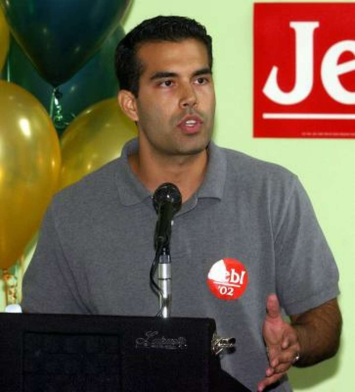 GEORGE P. BUSH The 32-year-old son of Florida Gov. Jeb Bush, who electrified the 2000 Republican convention, has moved to Austin and is being hailed as the political leader of the next generation of Bushes. He's an attorney and real estate developer.
