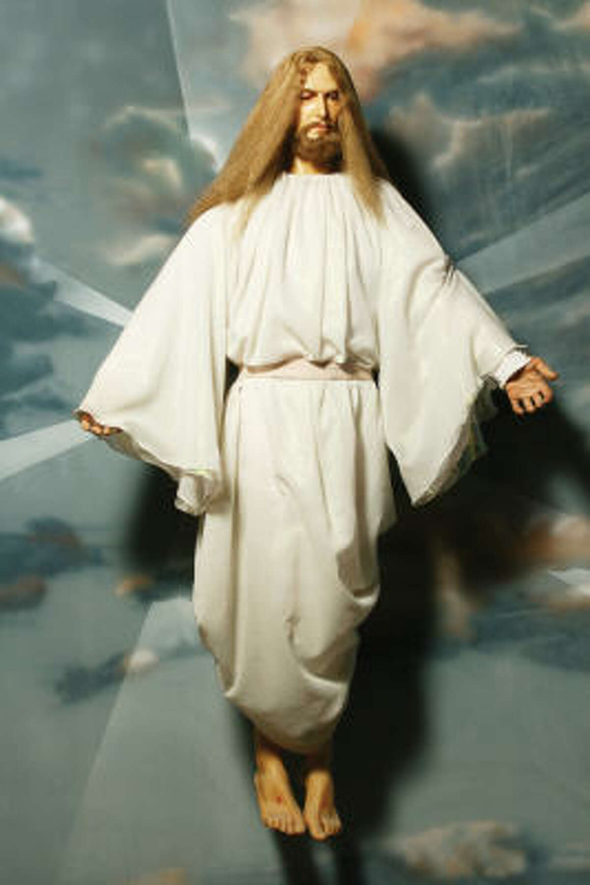 This wax statue of a resurrected Jesus is expected to sell for between $2,000 and $3,000. Bid here.