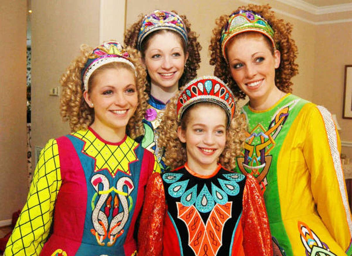 McTeggart Irish Dancers: 2:30 and 4:30 p.m. April 18