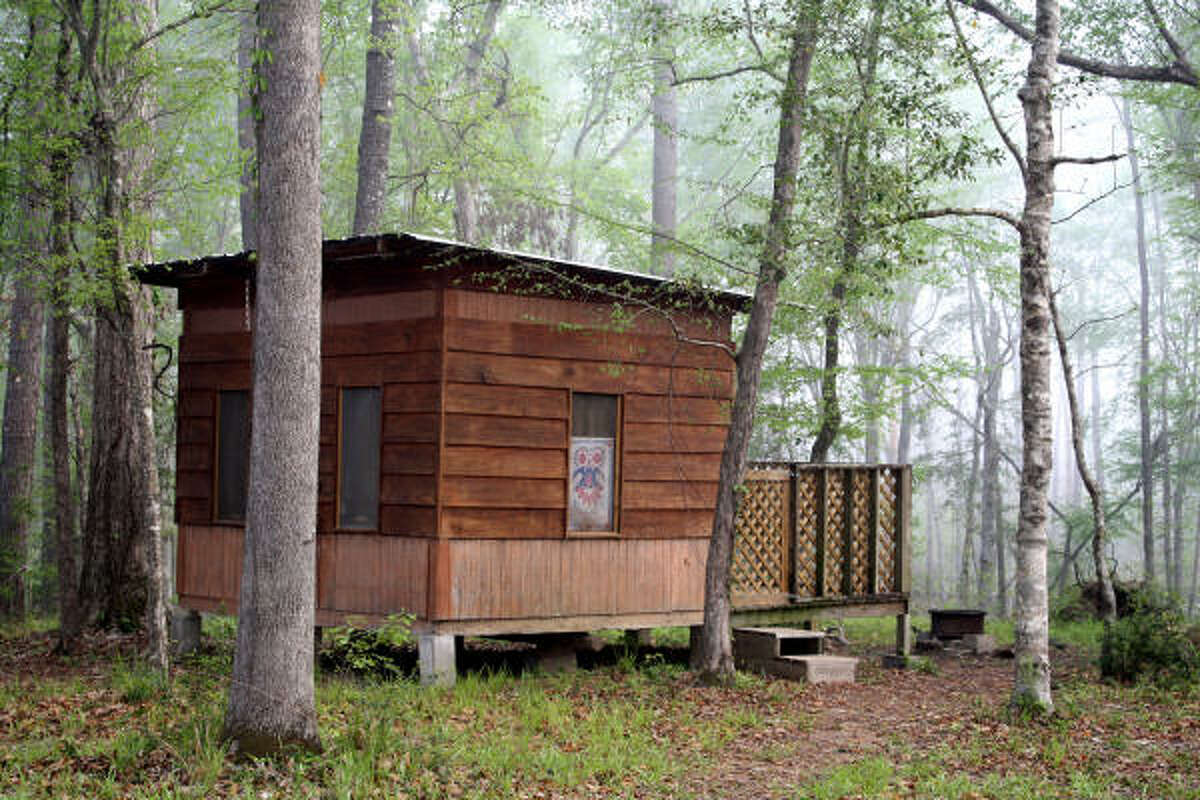 A cabin at Indian Springs Campground.
