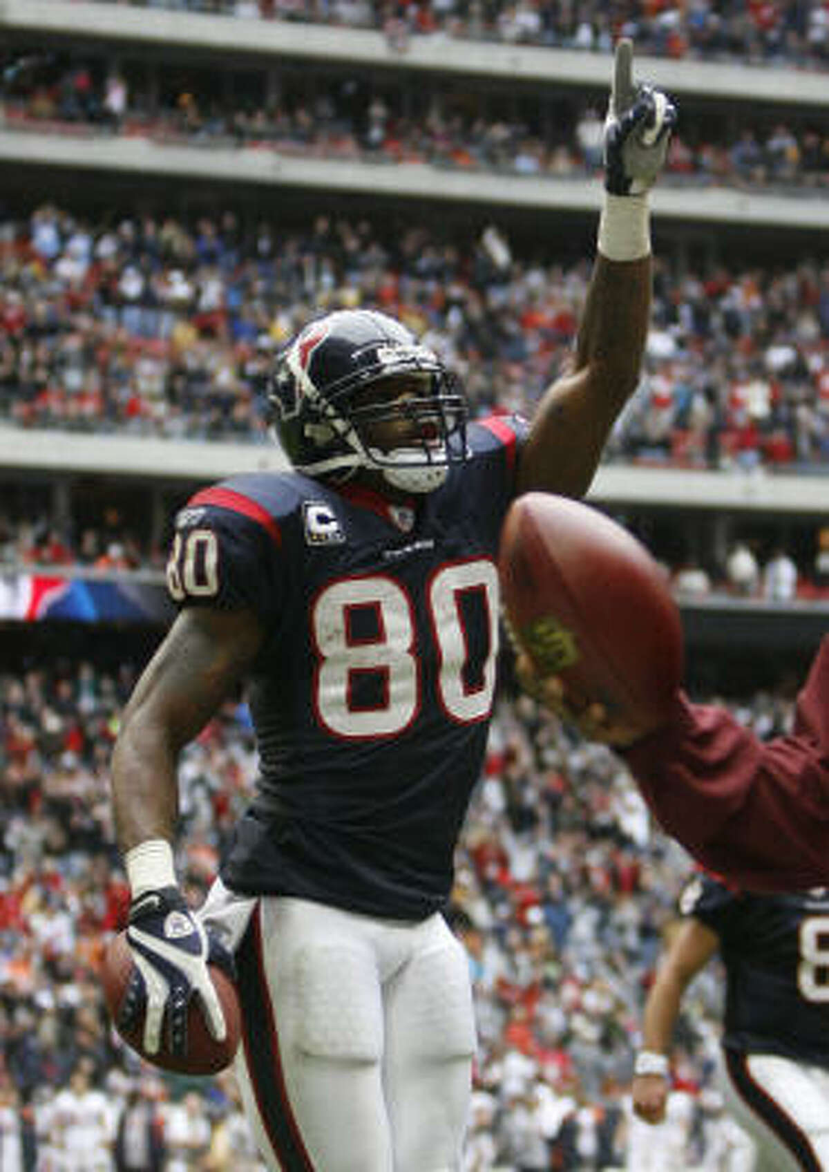 THE BESTWR Andre Johnson, 2003, 1st round, 3rd overall pick Regarded as one of the two best receivers in the NFL, he's a three-time Pro Bowl selection coming off a league-leading 115 catches for 1,575 yards and eight touchdowns.