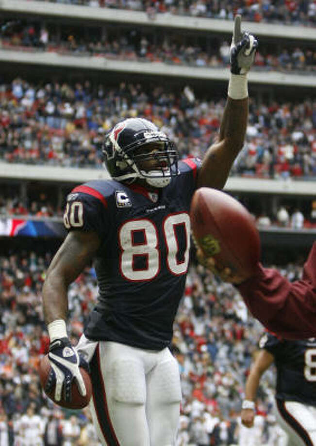 THE BESTWR Andre Johnson, 2003, 1st round, 3rd overall pickRegarded as one of the two best receivers in the NFL, he's a three-time Pro Bowl selection coming off a league-leading 115 catches for 1,575 yards and eight touchdowns. Photo: Karen Warren, Chronicle