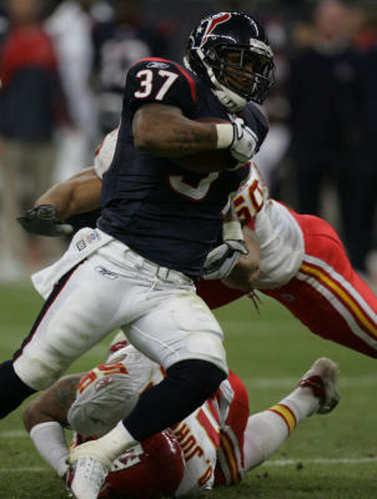 THE BESTRB Domanick Williams, 2003, 4th round, 104th overall pick Drafted as Domanick Davis to be a third-down back and kickoff returner, he averaged 1,065 yards rushing from 2003 through 2005 before a knee injury ended his career.