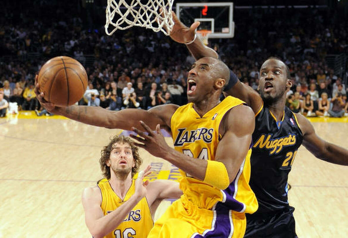 1. Los Angeles Lakers (64-17) With one game to play, the Lakers hold a 10.5-game lead in the Western Conference and a 19.5-game lead in the Pacific Division.