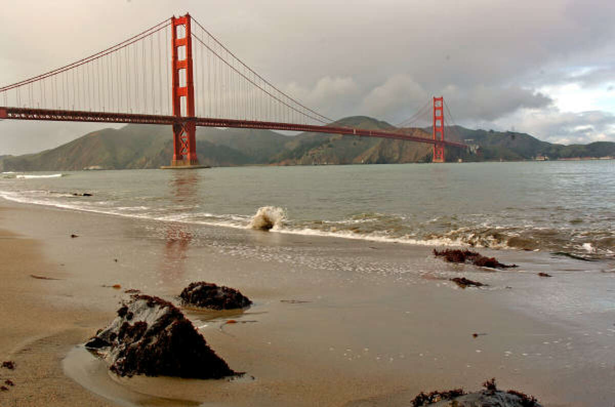 Visitors can rent a bike and make their way across the Golden Gate Bridge. Along the way, bikers will pass Fisherman's Wharf, Fort Mason and the Marina District.
