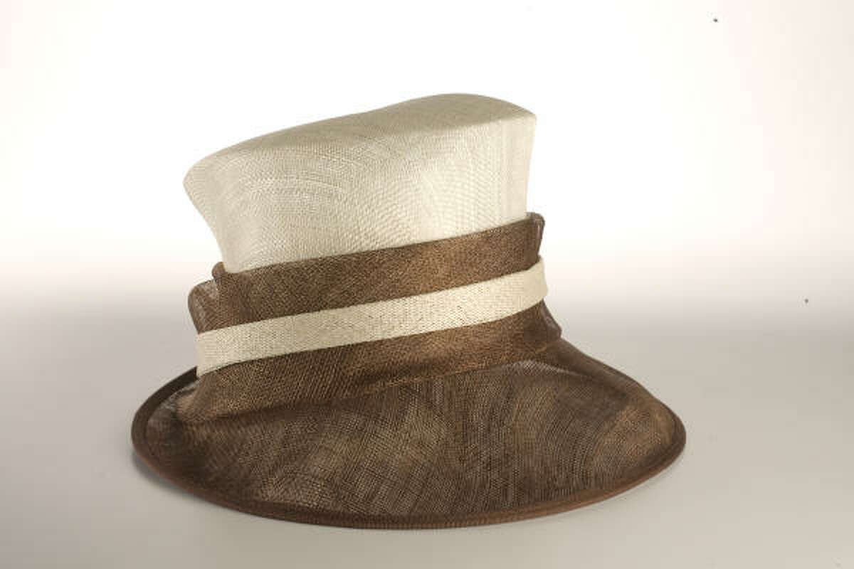 This cream and brown hat will look perfect with any neutral-colored outfit. Find it at T.J. Maxx for $24.99.