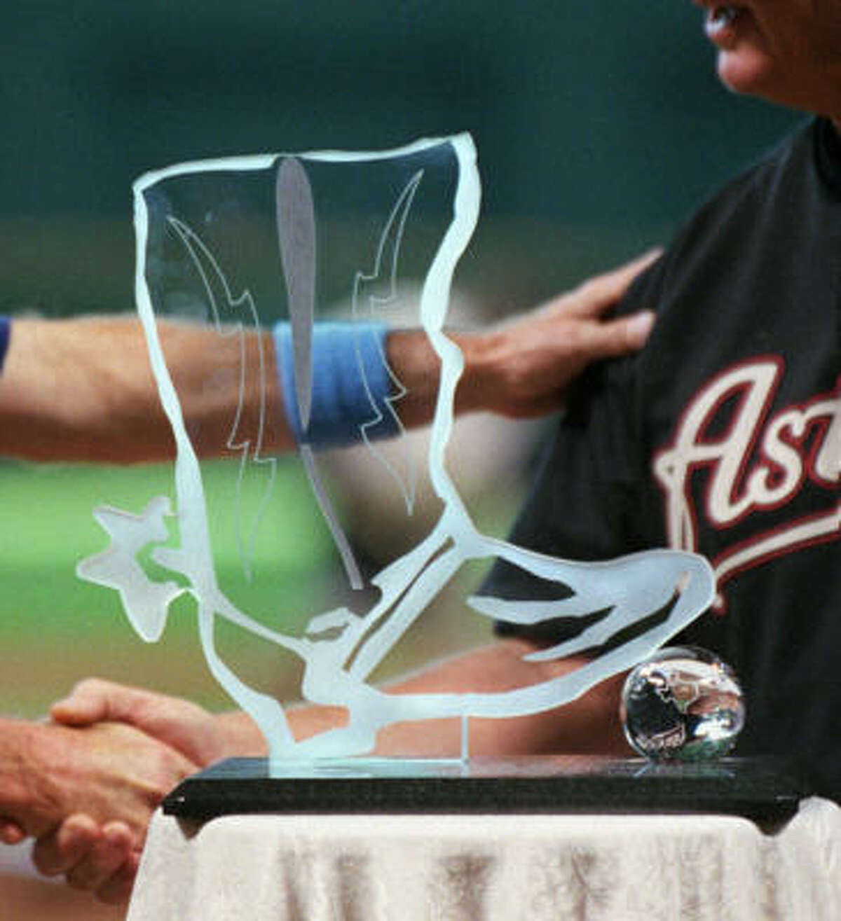 May 22 The in-state Rangers visit Minute Maid Park to begin the battle for the Silver Boot.