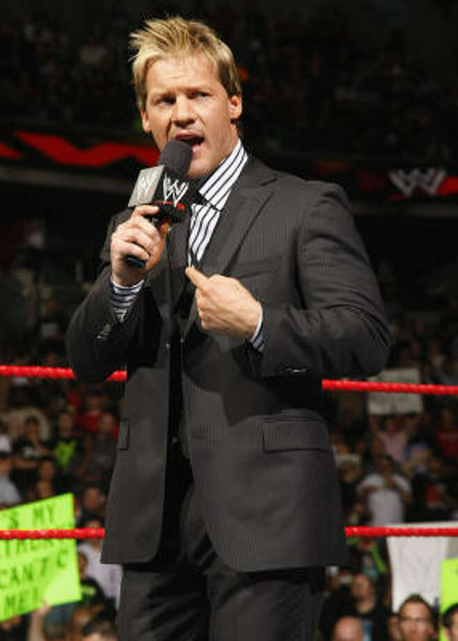 WrestleMania comes to Houston Sunday at Reliant Stadium, bringing with it some of the WWE's biggest stars, like Chris Jericho. Photo: © 2009 World Wrestling Entertainment, Inc.  All Rights Reserved