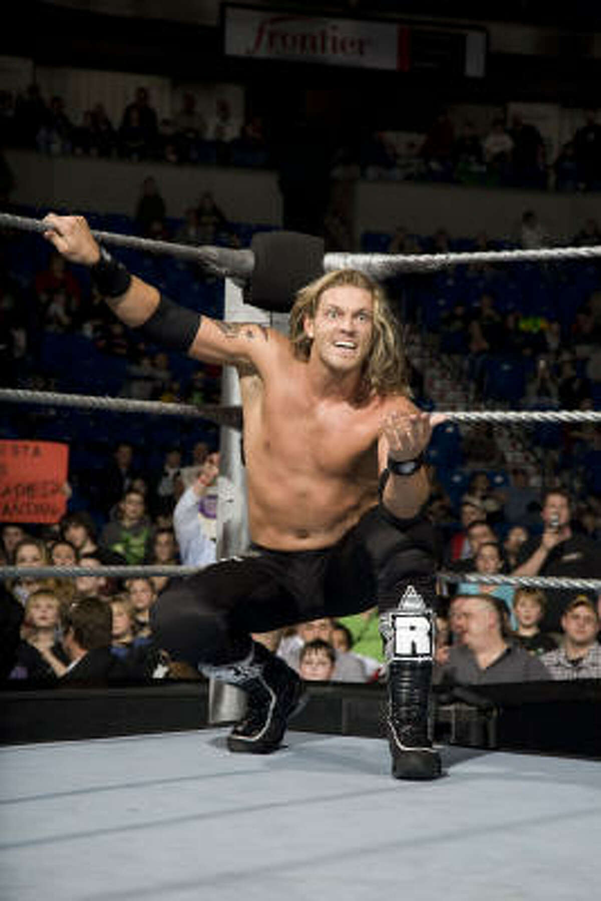 Edge, the current World Champion, will face John Cena and the Big Show in a title match at Wrestlemania.