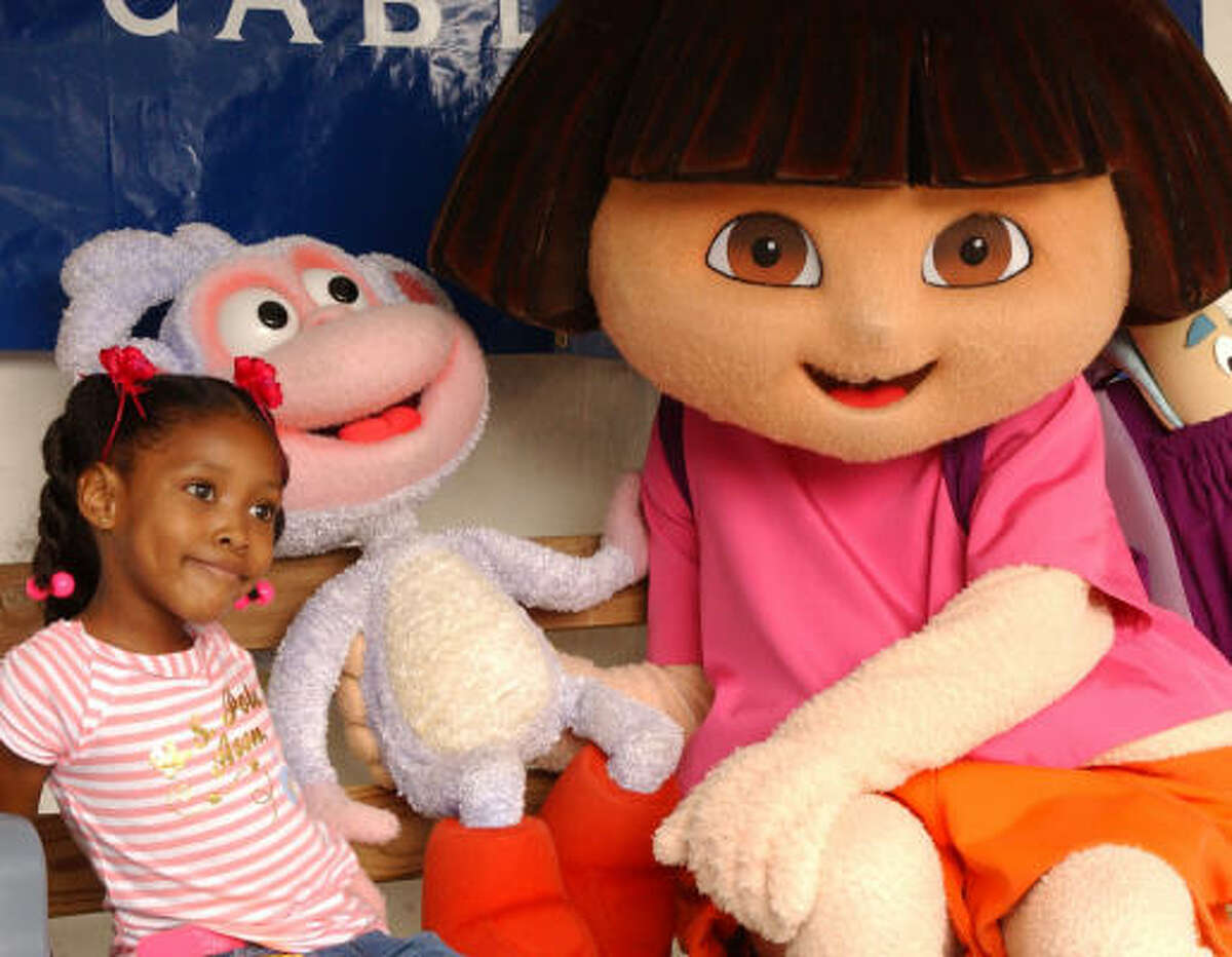 Dora and Diego will be part of the festival along with six stages, eight Family Adventure Areas and over 300 activities. The festival will raise money for Child Advocates.
