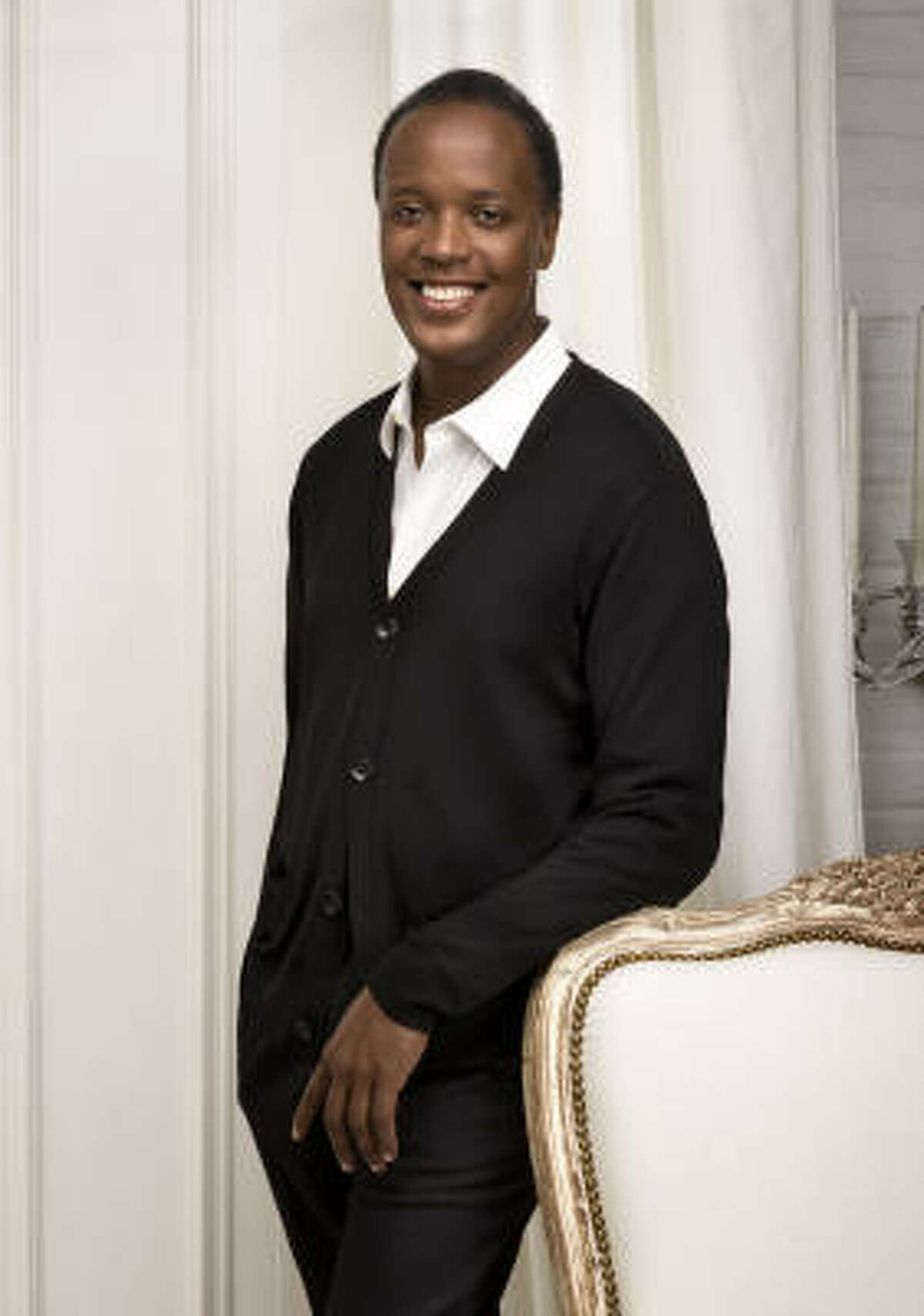 Fashion designer Edward Wilkerson of Lafayette 148 said his collections was inspired by his vacation in Versailles, France.