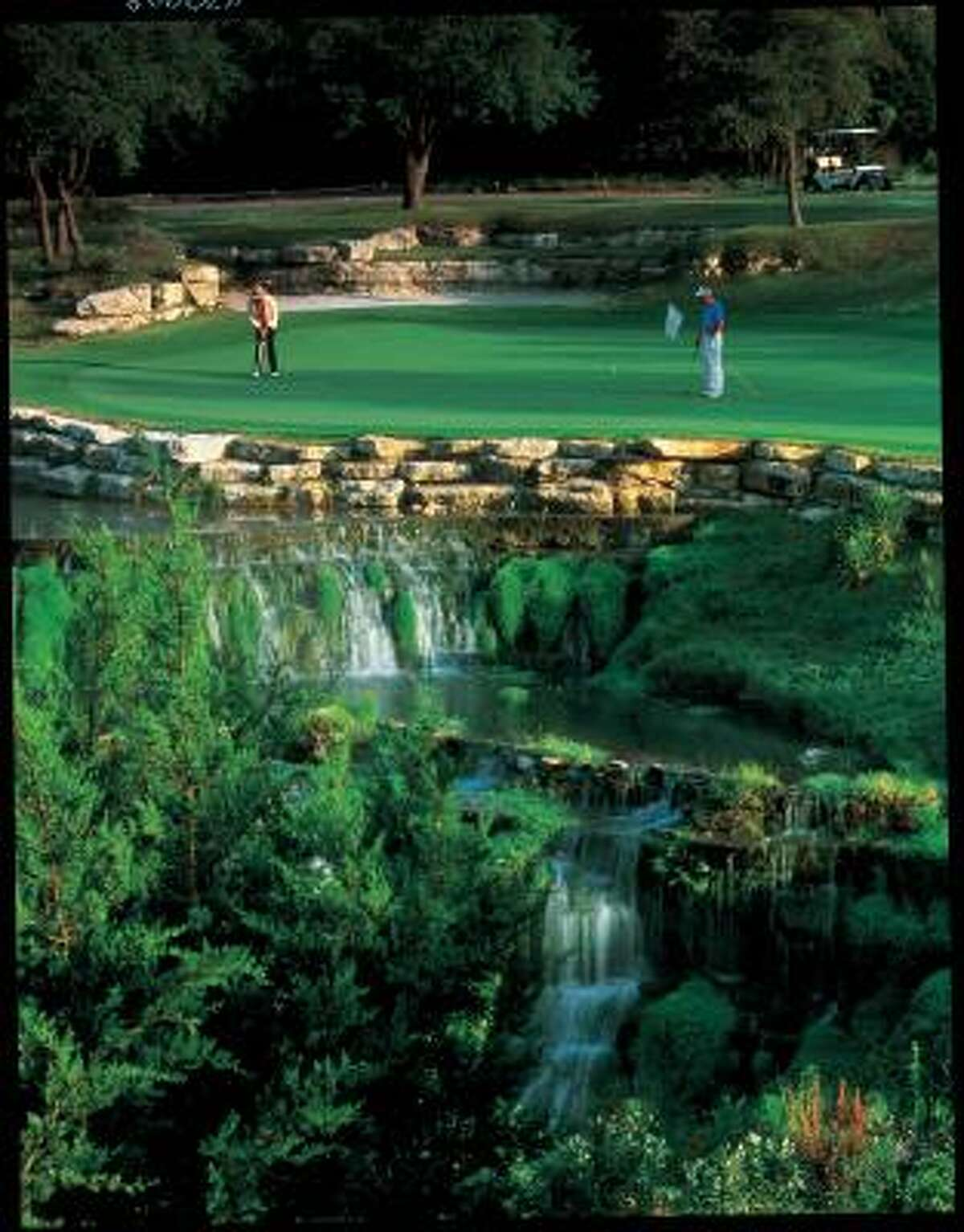 The heaven of hazards on the award-winning Fazio Foothill course at the Barton Creek Resort in Austin, TX