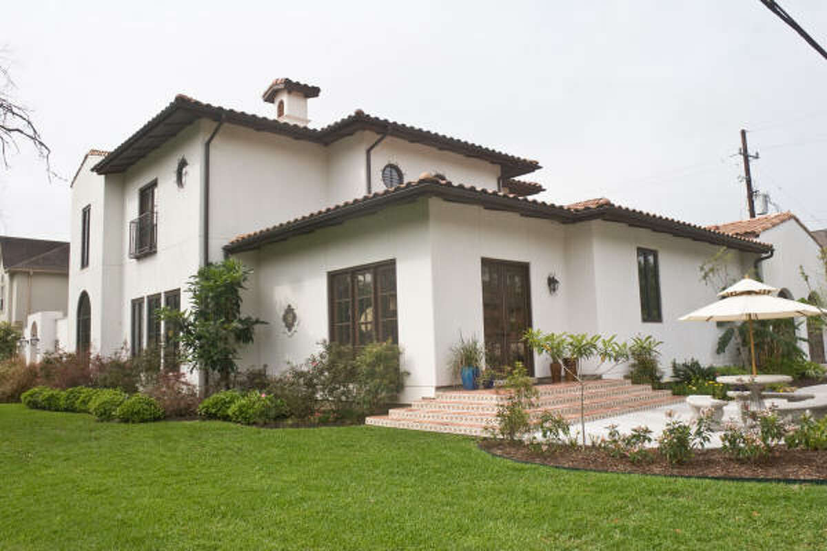 BELLAIRE HOME TOUR: The Neumann house, 1002 Pauline, one of the stops on this year's Bellaire Home Tour, reflects the family's love for Spanish and Mexican decor. The tour will be 1-5 p.m April 4-5.