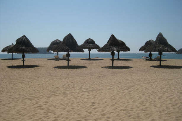 The atmosphere in Huatulco is much different than the crowded beaches on the Yucatán Peninsula.