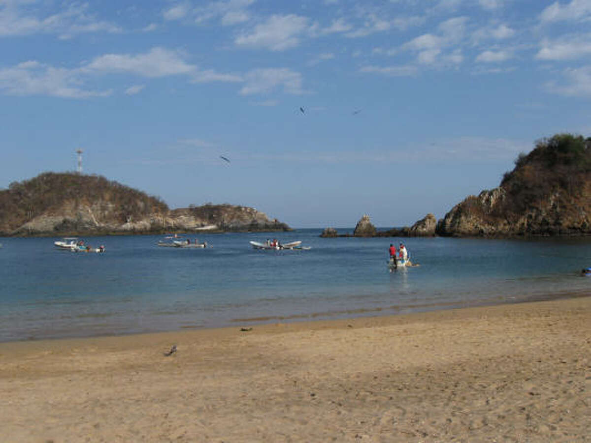 Once a tiny fishing village, Huatulco's natural beauty is now attracting international visitors.