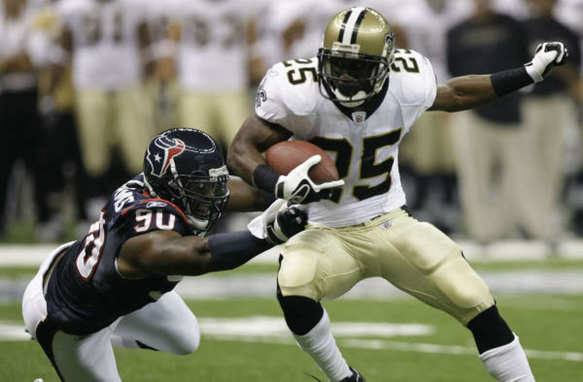 Preseason: Texans vs. New Orleans Saints, Reliant Stadium