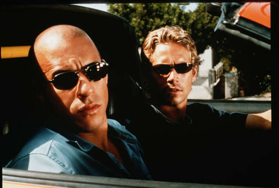 Vin Diesel and Paul Walker in 'Fast and Furious.'  Photo: Universal