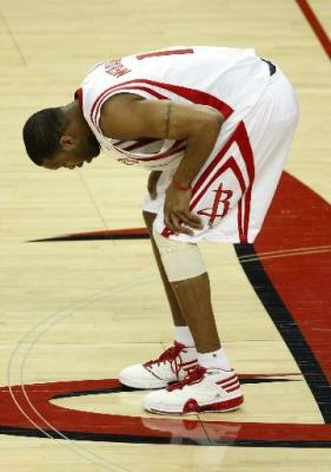 No. 1:Tracy McGrady, Rockets. Annual salary: $21,126,874. Photo: Brett Coomer, Chronicle